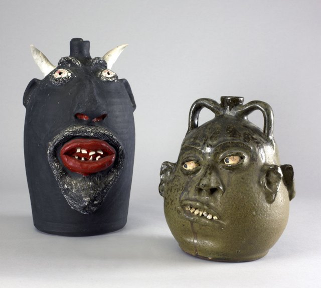 Lanier Meaders, Face Jug, 1970s. Doug Hill photograph