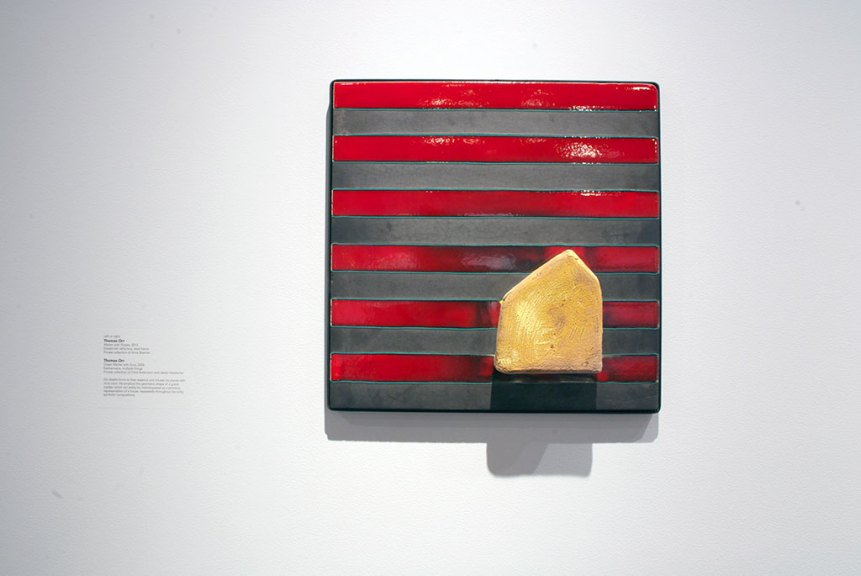 Thomas Orr, Marker with Stripes, 2012
