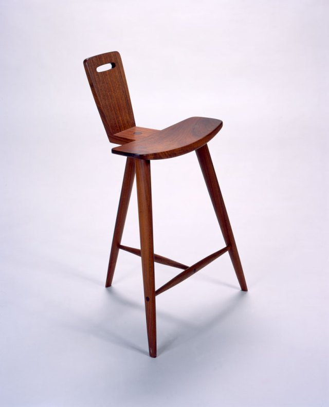Tage Frid, Stool, 1982. Courtesy of Museum of Art, Rhode Island School of Design
