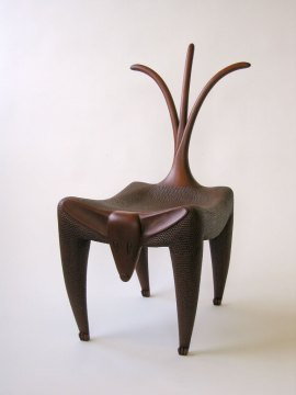 Judy McKie, Wagging Dog Chair, 2006