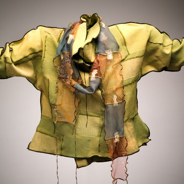 Deborah Cross, Silk Jacket, 2007. Paul Schwab photograph