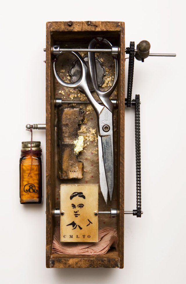 Adam Smith, Heal and Completion, 2007. Mixed media, Josh Goleman photograph