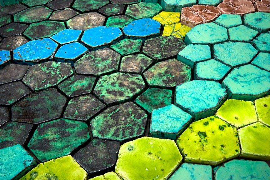 Cary Esser, Landscapes I (detail), 2008