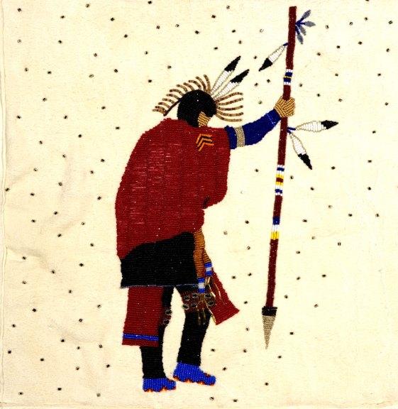 Teri Greeves, Prayer Blanket (detail), 2006