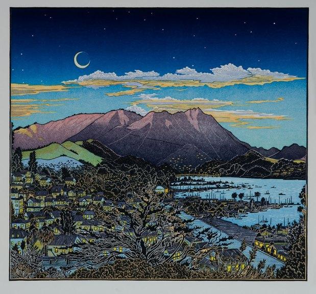 Tom Killion, Mt. Tamalpais from Bulkley Avenue, Sausalito