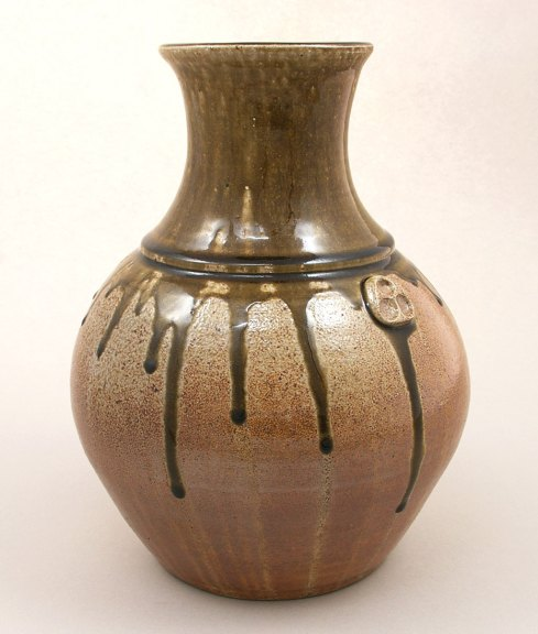 Pamela Owens, Dragon-neck Vase, Jugtown Pottery