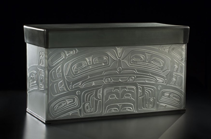 Preston Singletary, Tlingit Storage Box, 2015