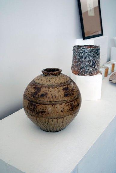 Bernard Leach, Vase, Thrown stoneware, Madison Metro photograph