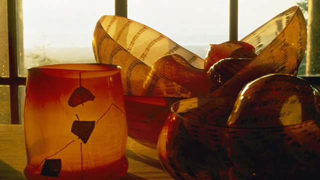 Dale Chihuly, Pilchuck Baskets, 2006 Chihuly Inc. Edward Claycomb Photography