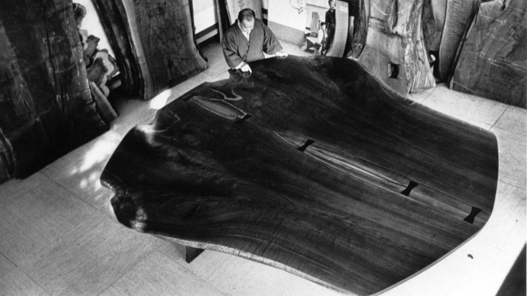 George Nakashima, Peace Table, Mary Bloom Photograph