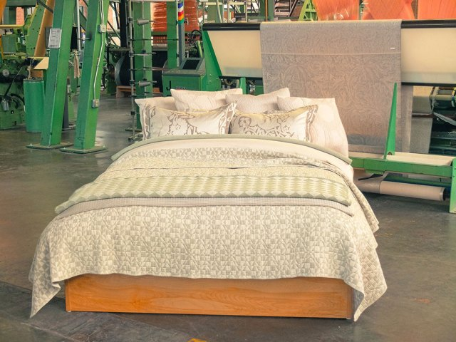 The Oriole Mill bedding. Mark Markley photograph