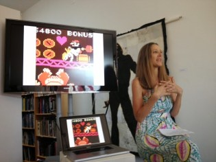 Ellen sharing the artwork that launched her into embroidering pornographic imagery and challenging tropes of sexuality and gender identity.