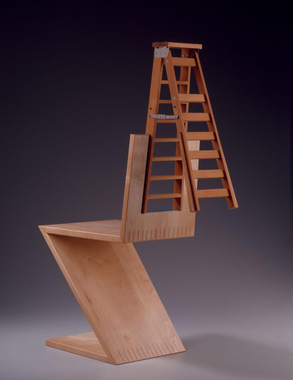 Garry Knox Bennett, Ladderback, 2003. M. Lee Fatheree photograph