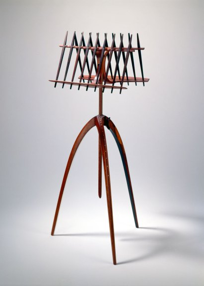 Arthur Espenet Carpenter, Music Stand, Courtesy of Forrest Merrill, M. Lee Fatheree photograph