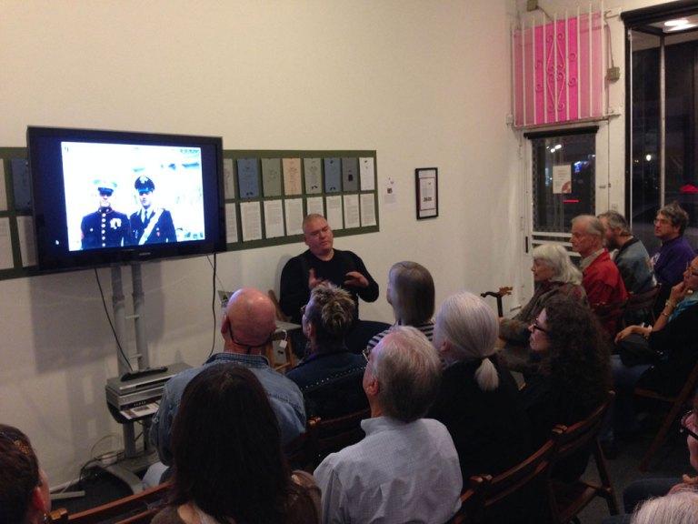 Ehren Tool artist talk at the Craft in America Center