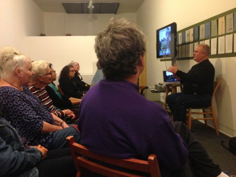 Ehren Tool artist talk at the Craft in America Center