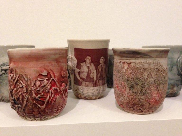 Ehren Tool, Cups, ceramic, service episode, Craft in America
