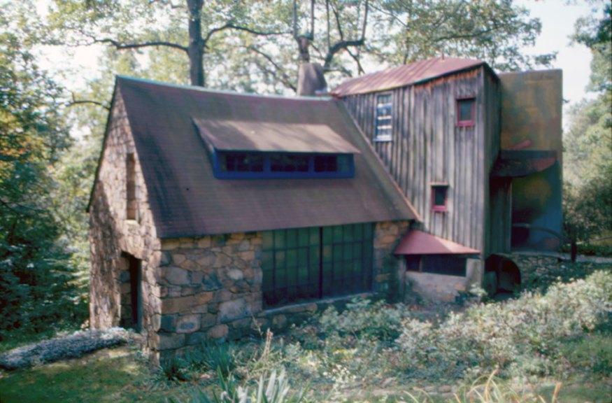 Wharton Esherick Studio. M. Bascom photograph