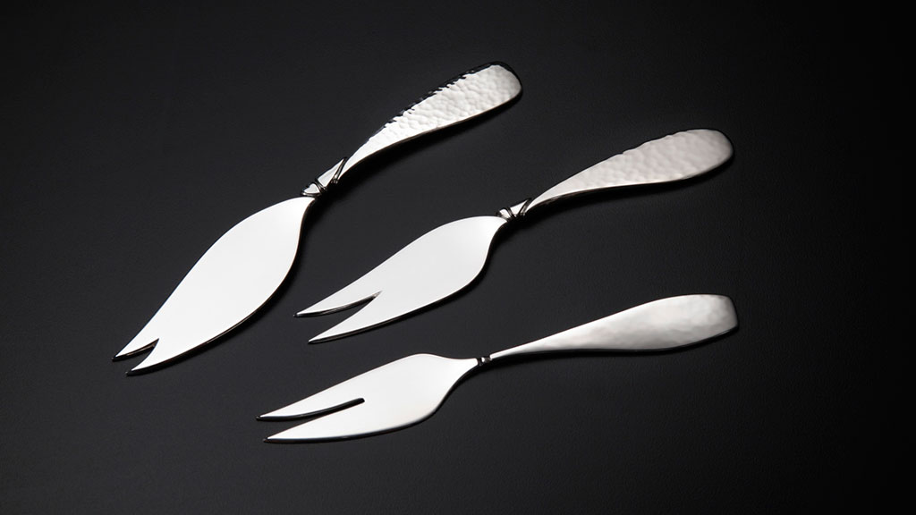 Randy Stromsoe, Handforged Olive Pickle Forks, Craft in America