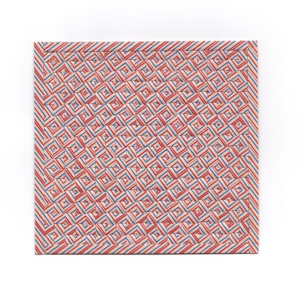 Karyl Sisson, Straw Suites (III), 2016. Vintage paper drinking straws