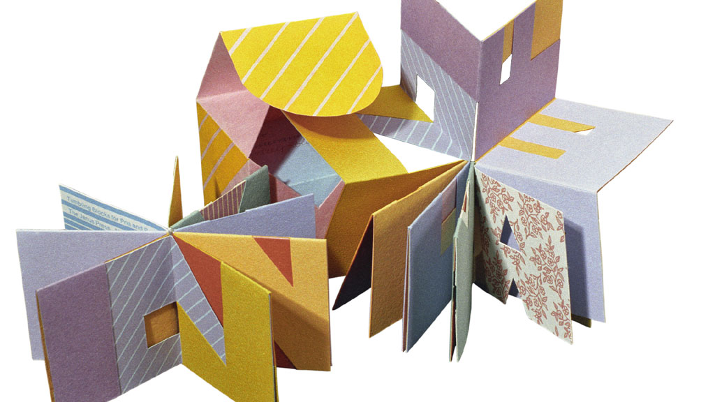 Claire Van Vliet, Tumbling Blocks, 1996. John Somers photograph