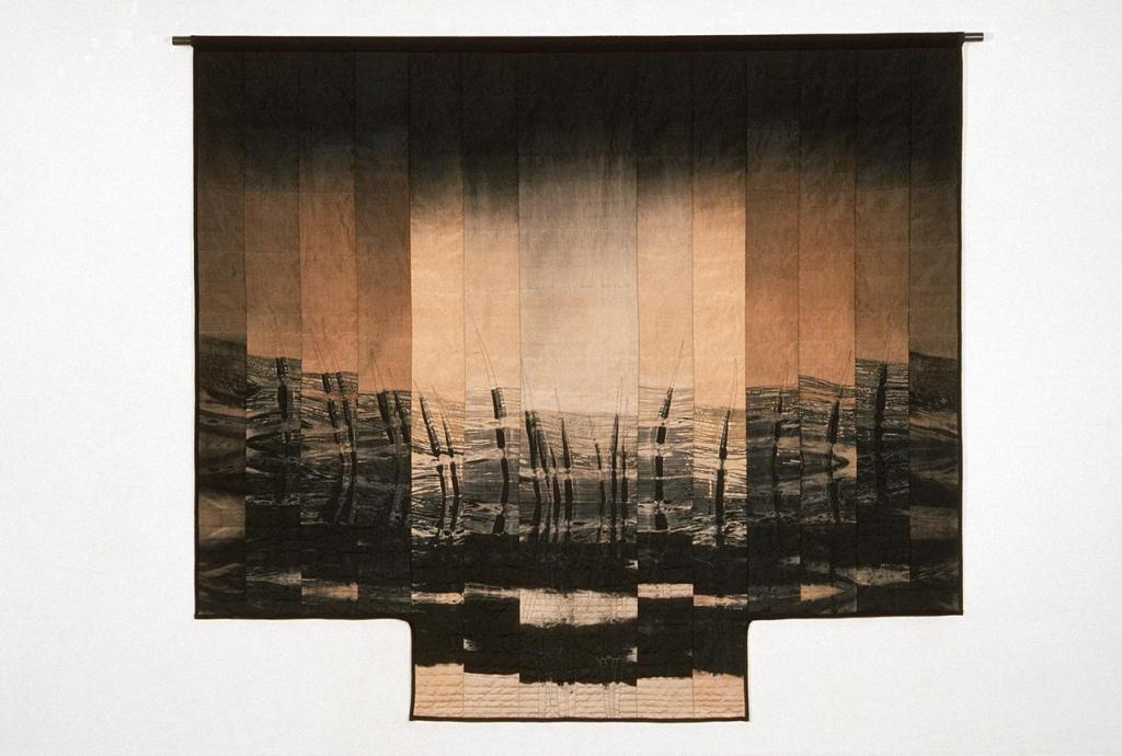 Judith Content, Rain Shadow, 2003, quilts, craft in america