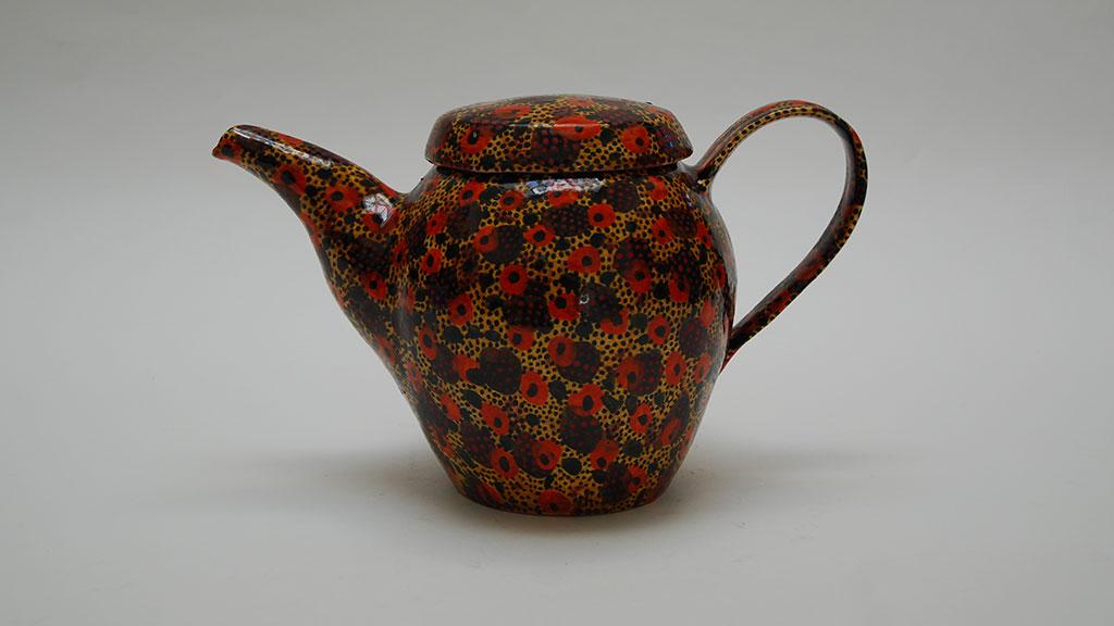 Gail Kendall, Teapot, 2014. Madison Metro photograph