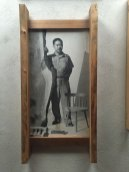 George Nakashima portrait in the Arts building