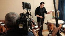 Filming Joseph Pereira