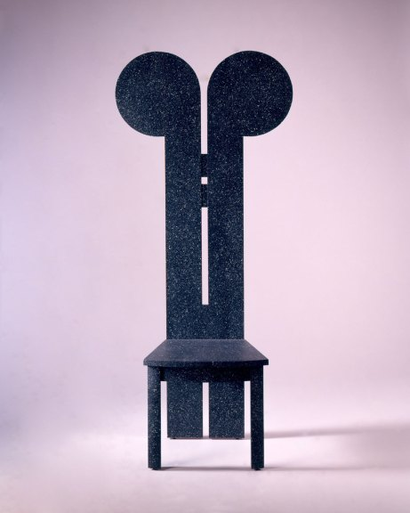 Wendy Maruyama, Mickey Mackintosh chair, 1988. Courtesy of San Francisco Museum of Craft and Design. M. Lee Fatherree photograph