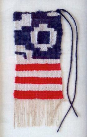 Consuelo Jimenez Underwood, Miniature USA Flag, 2009