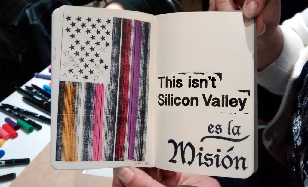 Victor De La Rosa, 2014, Future Flags of America: Study for 2050 U.S. Flag, SFAC Passport