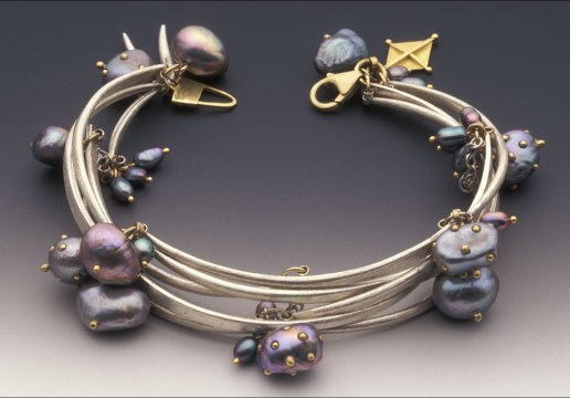 Susan Chin, Forged Links bracelet, 2002. George Post photograph