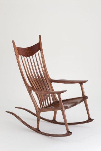 Sam Maloof, Rocking Chair, c.1973