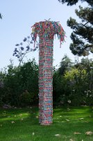 John Garrett, Untitled woven basket, c.1981. Jay Oligny photograph