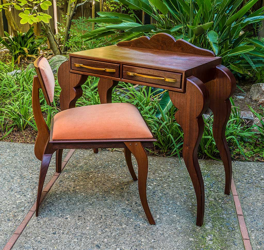 CA Handmade, Garry Knox Bennett, Desk with Chair, 2013
