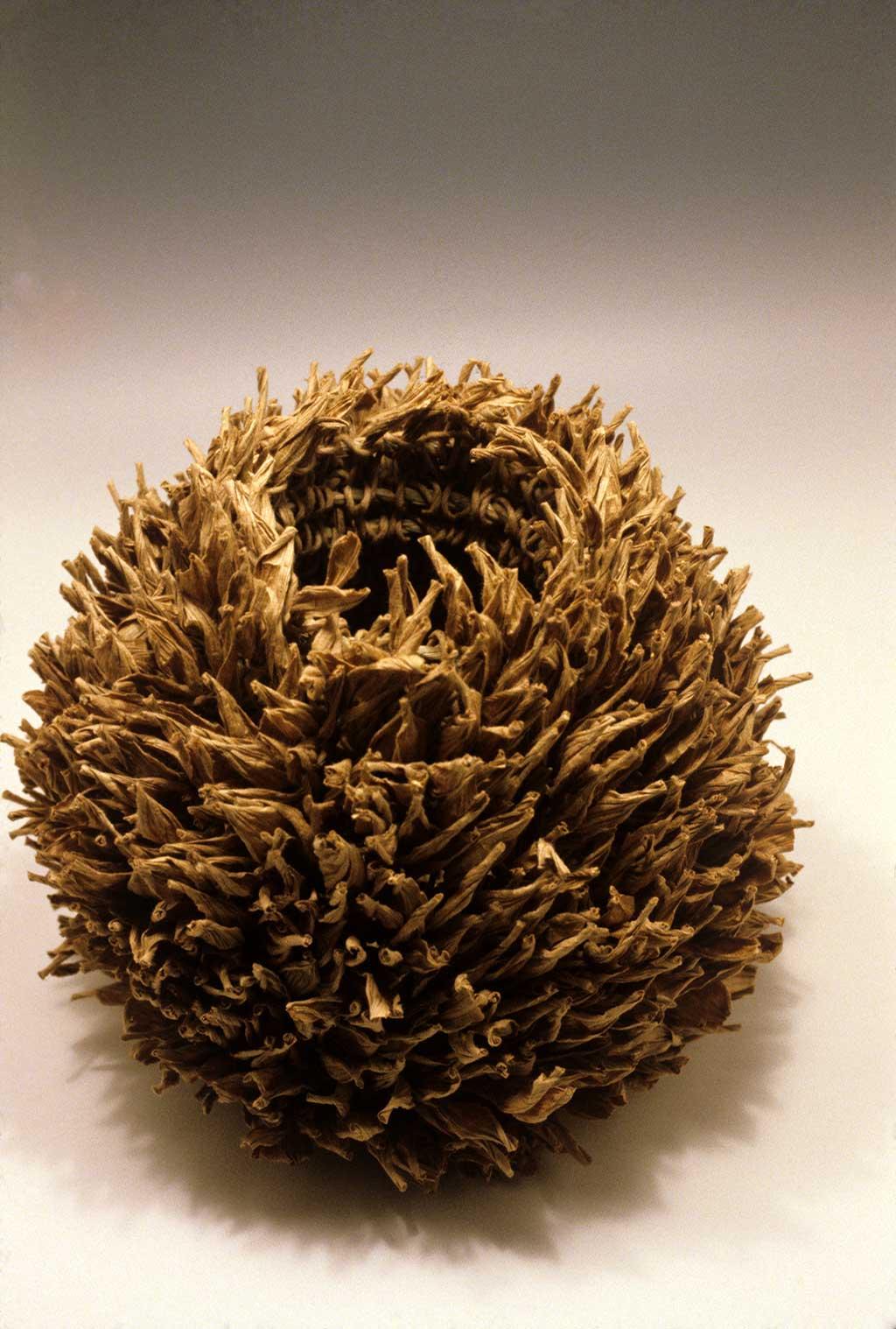 Mary Merkel-Hess, Seed Head Basket