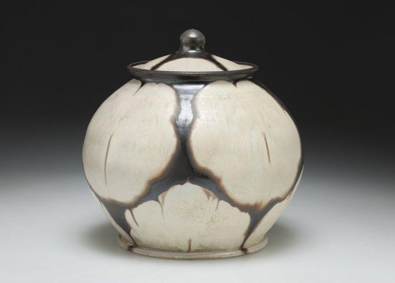 Linda Sikora, Covered Jar, 2014