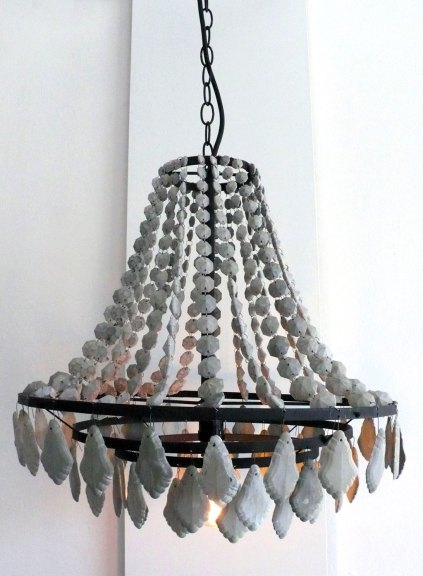 Mia Hall, Concrete Chandelier, 2014