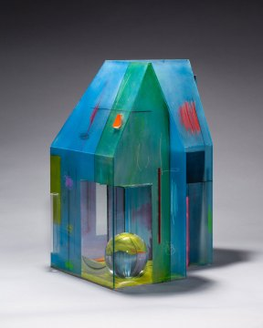 Therman Statom, glass house