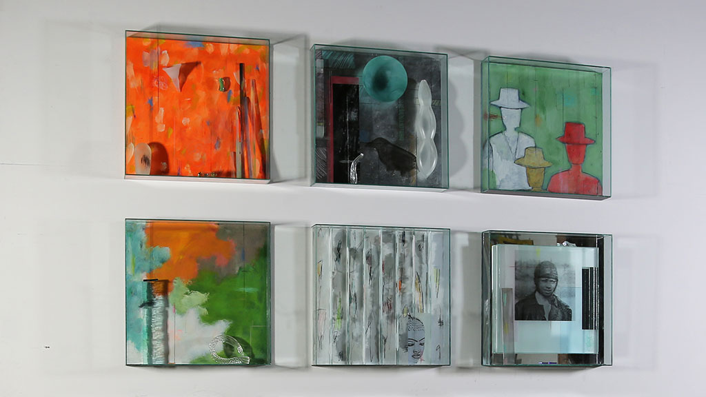 Therman Statom, glass boxes