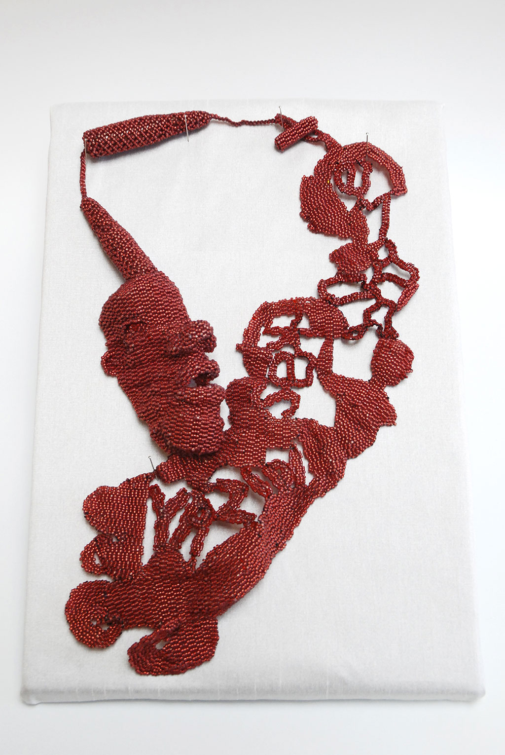 Joyce J. Scott, Yazidi Sex Slave Necklace, 2016