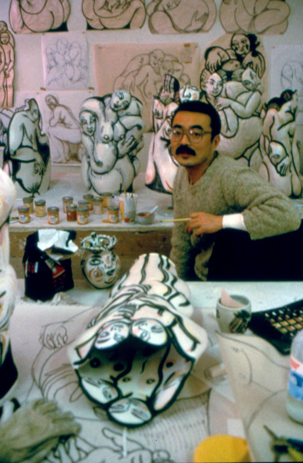 Akio Takamori, 1987
