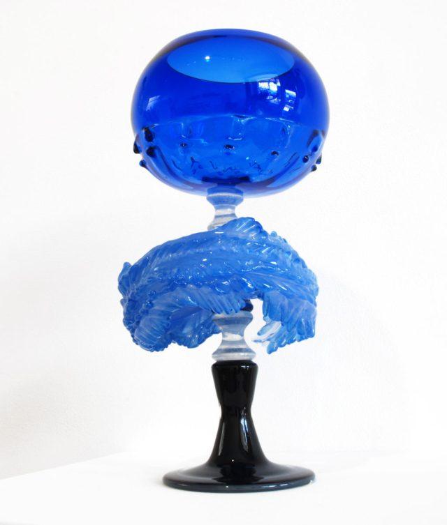 Kazuki Takizawa, Blue Single from the Container Series, 2017