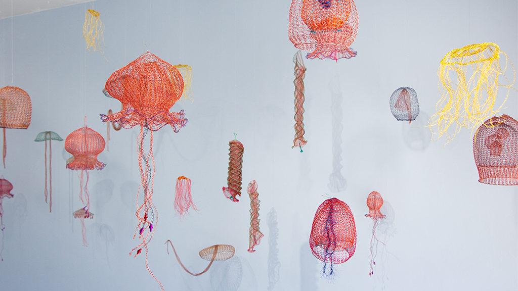 Arline Fisch, Aquatic Bloom, Craft in America