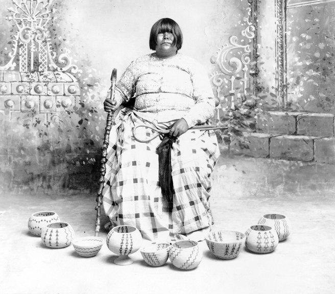 Washoe baskets