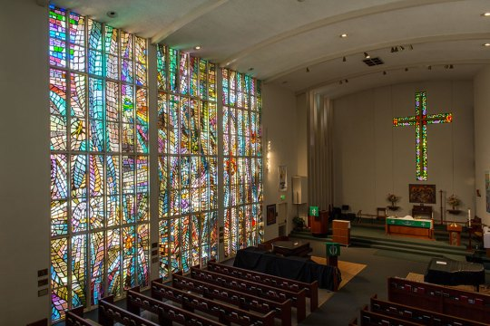 Judson Studios, Stained Glass windows, Courtesy of Judson Studios, Kyle Mickelson photograph