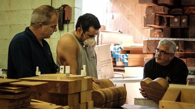 Chris Kamaka, Chris Kamaka Jr., and Casey Kamaka. Mark Markley photograph, Music