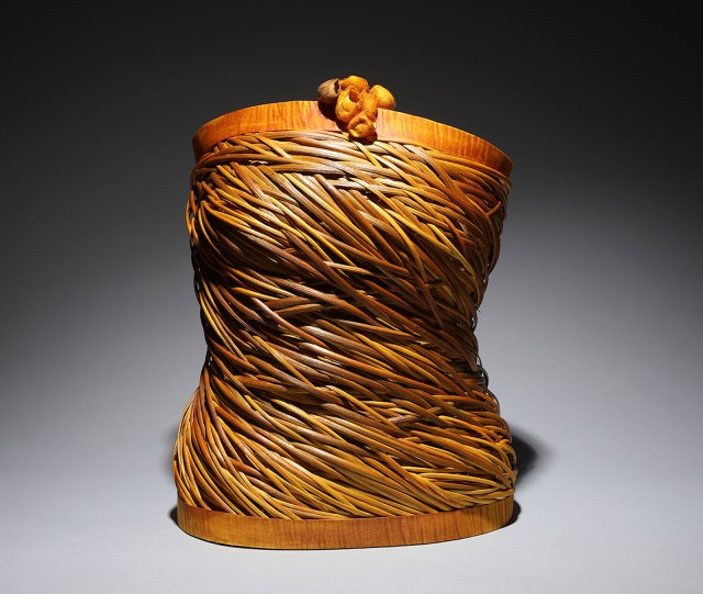 Nancy Loorem Adams, Daphne, 2018. Excellence in Fibers IV, Craft in America