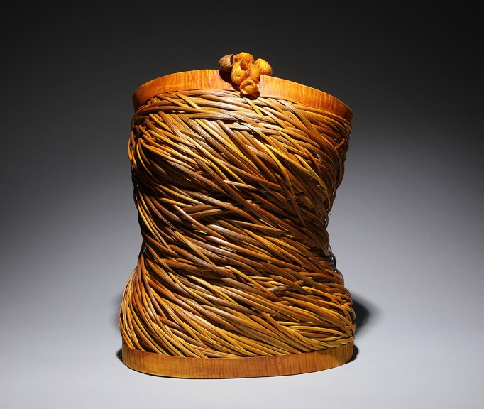 Nancy Loorem Adams, Daphne, 2018. Excellence in Fibers IV, Craft in America